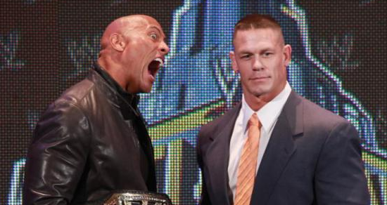 WWE 巨星組合!約翰·希南 表態想與巨石強森約架、飆車!