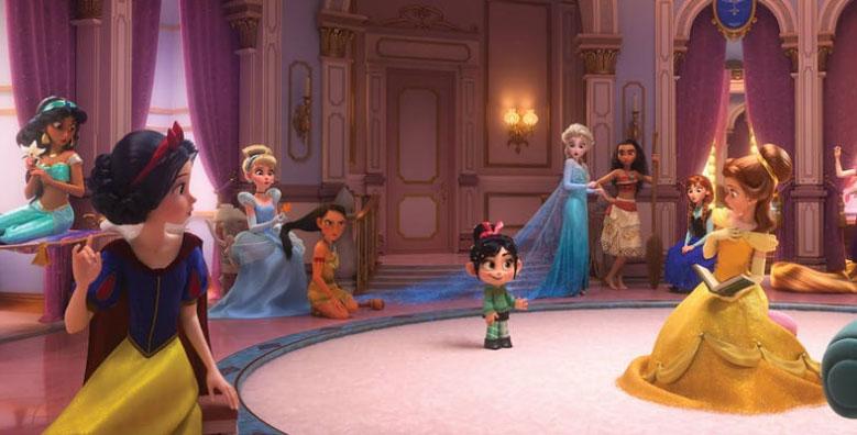前所未見!迪士尼公主在【無敵破壞王2】全換上時裝